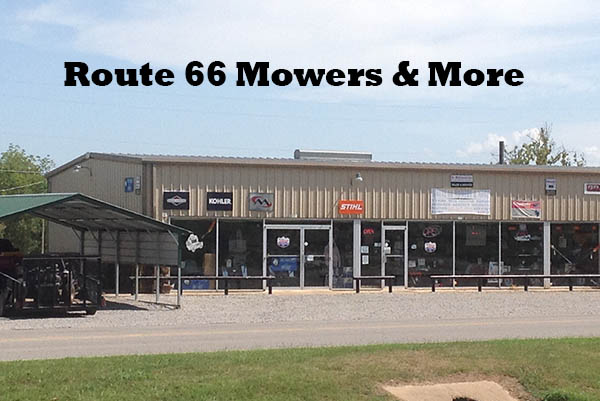 Route 66 Mowers store